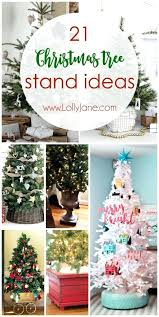 Tree Stand Ideas Such Unique Stands Love These Fun Trees Best Xmas Cinco Christmas Nz