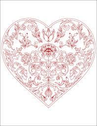 Coloriage De Coeur D Amour Luxury Coloriage Coeur 26 Frais Coloriage