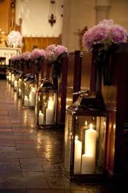 Candles In Lanterns Create A Super Romantic Lighting Effect For Your Ceremony