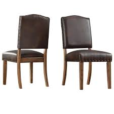 Nailhead Brown Bonded Leather Dining Chair Set Of 2 Harlow Velvet Wingback Ding Chair With Nailheads Set Of 2 Iconic Home Shira Faux Linen Belgravia Wing Back Rattan With Cushion Wingback Ding Chairs Genevaolszewskico Host 300350126 Sofas And Sectionals Amazoncom Upholstered Chairs Mid Century Nailhead For Best Fniture Fnitures Fill Your Room Pretty Parsons Cheap Decor Gallery