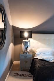 schlafzimmer einrichten in grau schwarz
