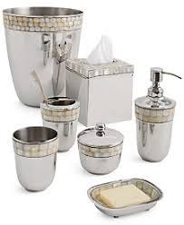 Mercury Glass Bathroom Accessories by Bathroom Accessories And Sets Macy U0027s