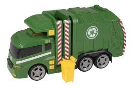 Teamsterz - 1416391 - Light And Sound Garbage Truck Toy