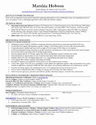 Desktop Support Specialist Resume For Puter Technician