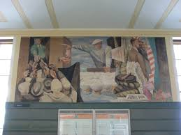 Coit Tower Murals Prints by San Francisco U0027s Art From The New Deal Era Sharp
