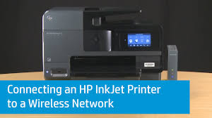 Hp Printer Help Desk by Connecting An Hp Inkjet Printer To A Wireless Network Youtube