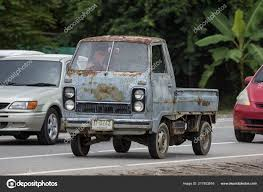 100 Hijet Mini Truck Chiangmai Thailand September 2018 Private Old Daihatsu