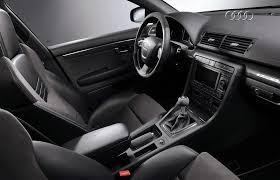 Audi A4 2008 White Interior