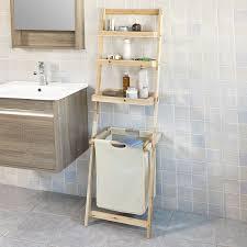 Standregal Badezimmer Badezimmer Regal Weis Schmales Metall Holz Glasregal Ohne Bohren