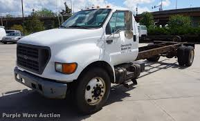 100 F650 Ford Truck 2001 Super Duty Truck Cab And Chassis Item DD651