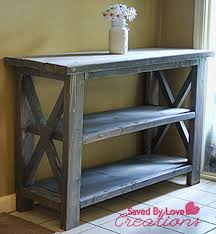 Model Ana White Rustic X Coffee Table DIY Projects
