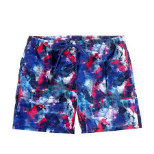 100 Coco Republic Sale Mens Abstract Board Shorts In Pink