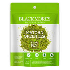 blackmores superfood matcha green tea nature boost vitamin b