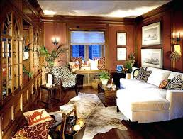 African Living Room Decor Awesome Themed