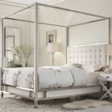 Wayfair Metal Queen Headboards by Jasper Upholstered Canopy Bed Room By Room Pinterest Canopy