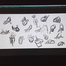 A Show Of Hands Warm Ups From Earlier P Drawing Warmups