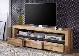 tv kommode kristiansand aus massiver wildeiche 115 x 49 x 42 cm
