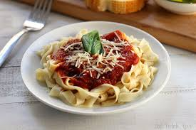 Homemade Spaghetti Eat Drink Love