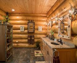 Inspiring Cabin Bath Accessories Home Design Rustic Style