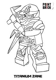 500x707 Ninjago Coloring Pages Kai Lego Zx