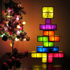 Tetris Stackable Led Desk Light by Diy Tetris Puzzle Novelty Led Night Light Stackable Led Desk Table
