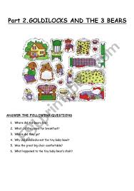 Part 2. GOLDILOCKS - ESL Worksheet By Marisa Plazas 3d Printed Goldilocks And The Three Bears 8 Steps Izzie Mac Me And The Story Elements Retelling Worksheets Pack Drawing At Patingvalleycom Explore Jen Merckling Story Of Goldilocks Three Bears Pdf Esl Worksheet By Repetitor Dramatic Play Clipart Free Download Best Read Aloud Short Book Video Stories Online Kindergarten Preschool