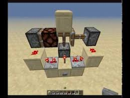 Flashing Redstone Lamp Minecraft by Minecraft Tutorial Retractable Lightning With Redstone Lamps