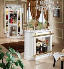 Living Room Mini Bar Furniture Design Pictures Of European Style Modern White Color