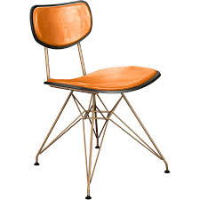 NyeKoncept 16020077 Harvey Eiffel Dining Chair In Orange Leather On ... Designer Orange Fabric Upholstered Midcentury Eames Style Accent Ding Chairs Kitchen Ikea Gallery Burnt Leather Living Room Fniture Buildsimplehome Nyekoncept 16020077 Harvey Eiffel Chair In On Martha Set Of 2 Urban Ladder Burnt Orange Jeggings Bright Lights Big Color Woven Wisteria Blackhealthclub Leighton Pair Stud Chenille Effect Black Legs Lincoln Amish Direct Ujqiangsite Page 68 Contempory Ding Chairs Chair