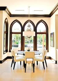 Dining Room Drum Chandelier Beautiful Shade In Contemporary With Marble Tile Next