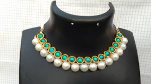 How To Make Bridal Necklace // Designer Pearls Necklace // DIY ... Bresmaid Jewelry Ideas How To Choose For Bresmaids Bold Design Ideas To Make Pearl Necklace Making With Beads Diy New What Is Projects Cool Home Luxury Under Make Embroidered Patches Blouses And Sarees At Jewellery Work Villa 265 Best Moore Jewelry Images On Pinterest Making Design An Ecommerce Website Xmedia Solutions Blog Decorating A Small Bedroom Decorate Really Learn How Jewellery Home With Insd Let Us Publish Backyards Woodworking Box Plans Free Download
