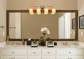 Image Of Framed Bathroom Mirror Ideas