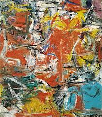 Composition 1955 By Willem De Kooning