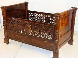 Antique Baby Cribs Antique White Cradle And Luxury Ba Cribs In Ba