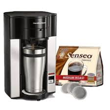 Stay Or Go Single Cup Coffee Maker