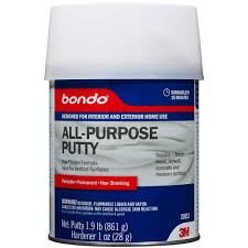 Wood Floor Patching Compound by 3m Bondo Home Solutions 1 Qt All Purpose Putty 20052 The Home Depot