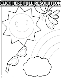 Beach Coloring Pages Printable Summer Book Free