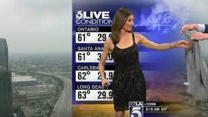 KTLA Reporter Asked To Cover Dress During Broadcast