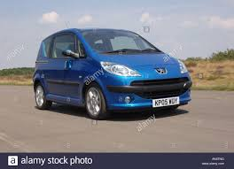 Peugeot 1007 car Small car with electric sliding side doors Stock