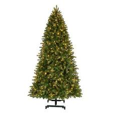 7 Ft To 9 Pre Lit LED Virginia Pine Grow And Stow