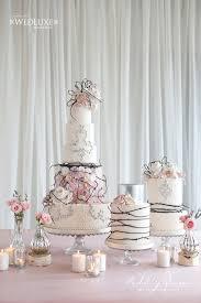 Elegant Wedding Cake Display Rachel A