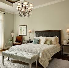 Sage Green Master Bedroom Love The Colors And Tufted Bench At