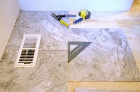 Regrouting Bathroom Tile Do It Yourself by Easy Diy Vinyl Flooring With Groutable Tile