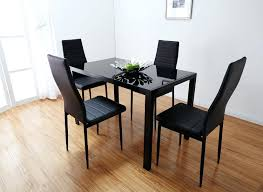 Ikea Dining Room Furniture Uk by Black Glass Dining Room Tables Uk Table 8 Chairs Sets Clearance