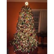 75 Ft Slim Christmas Tree by 7 5 Foot Dunhill Fir Pre Lit Or Unlit Artificial Christmas Tree