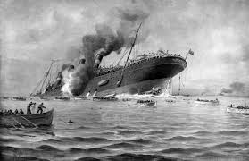 Where In Ireland Did The Lusitania Sink by One Hundred Years Ago In 1917 A Secret Coded Radio Transmission