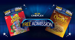 Cineplex.com | General Mills Promotions