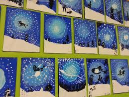 Winter Painting Ideas Lovely 287 Best Art Lessons Images On Pinterest