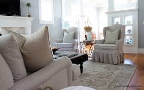 Living Room Chair Cover Ideas by Furniture Wonderful Wingback Chair Slipcover For More Beautiful