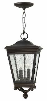 Hinkley 2462OZ Lincoln Oil Rubbed Bronze Exterior Pendant Hanging